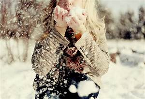 girl, photograph, photography, snow, winter - image #76672 ...