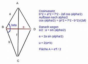 Diagonale Eines Quadrats Berechnen : berechne die fehlende l nge den fl cheninhalt und den ~ Themetempest.com Abrechnung