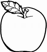 Apple Coloring Pages Print sketch template