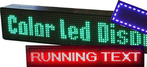 led running text indoor 50x15 jual running text jakarta cibubur joanofart net