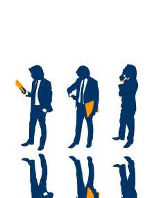 Business People Silhouette Clip Art