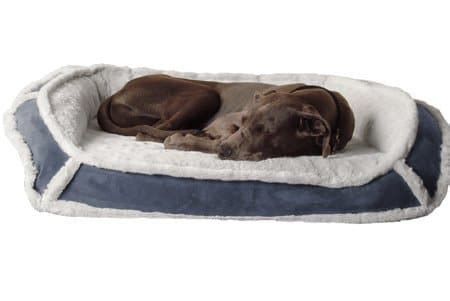 review k9 ballistics orthopedic lux bolster bed dogs