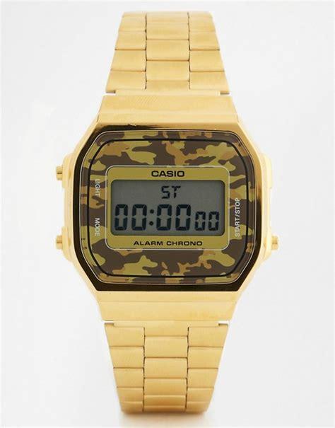 orologio casio mimetico casio a168wegc 5ef orologio digitale con cinturino