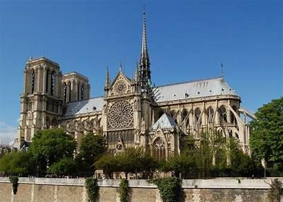 Dame Notre Senna Dalla Crop Paris Cathedral