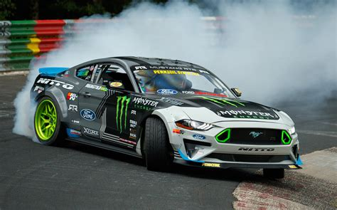 Ford Mustang Drift Nuerburgring by Ford Mustang Drifts The Entire N 252 Rburgring