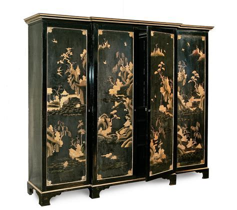 Chinoiserie Wardrobe   Painted Furniture   The Decorative Fair