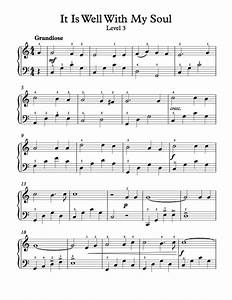 Free Piano Arrangement Sheet Music – It Is Well With My ...