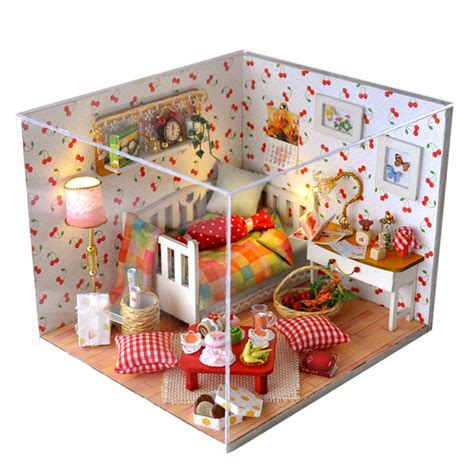 Gifts New Brand Diy Doll Houses Wooden Doll House Unisex