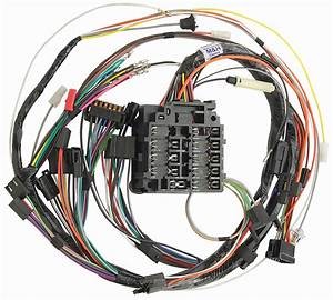 M U0026h 1968 Gto Dash Harness Column Shift And Manual