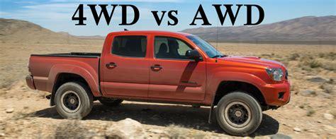 4wd Vs Awd Drivetrain Comparison