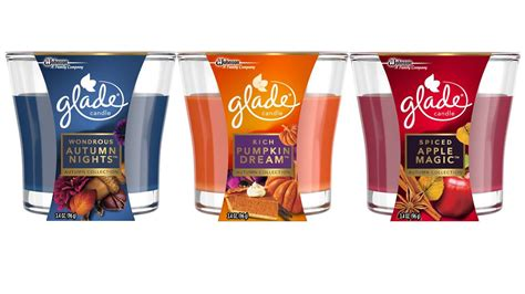 Candele Glade by Glade Candles Fall Scents Image Antique And Candle