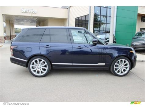 blue land rover 2016 loire blue metallic land rover range rover