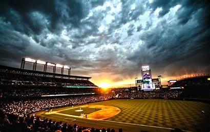 Rockies Baseball Colorado Coors Field Denver 4k