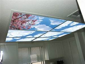 Turn On The Bright Lights Cover Sky Imitating Ceiling Panels Ceiling Panel Lights