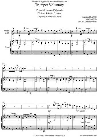Trumpet Voluntary Sheet Music