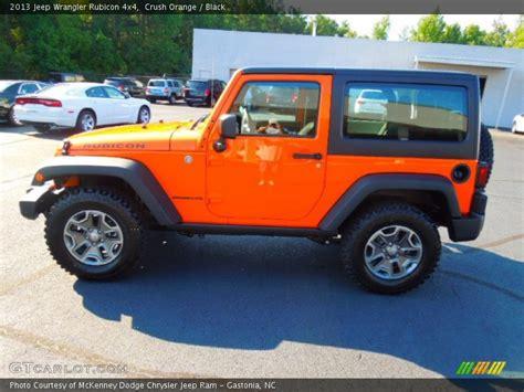 jeep rubicon orange 2013 jeep wrangler rubicon 4x4 in crush orange photo no