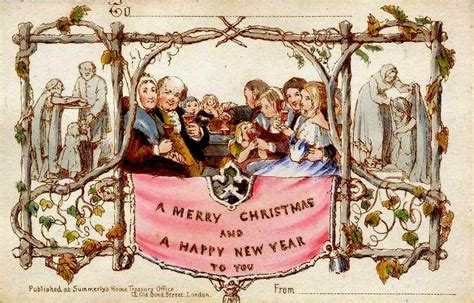 origin of popular products the first christmas card