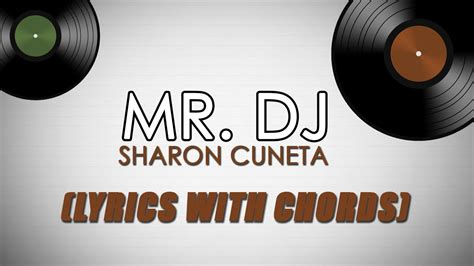 Mr. Dj [official Lyric Video With Chords