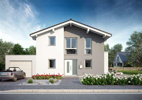 Hauser Bauen by Familienhaus Vero Satteldach Mit Flacher Dachneigung