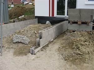 Fundament Für Terrasse : was ist ein streifenfundament streifenfundament welche kosten muss man rechnen das richtige ~ Yasmunasinghe.com Haus und Dekorationen