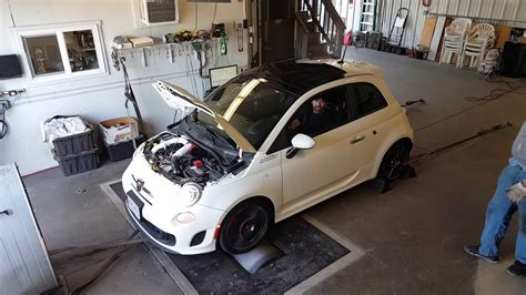 Fiat 500 Abarth Tune by 2013 Fiat 500 Abarth Dyno Smg 5 20 17 Second Pull