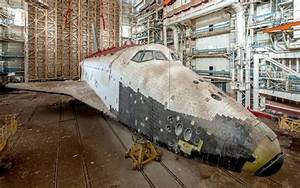 Russia's abandoned space shuttles at the Baikonur ...