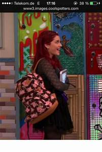 Bag: cat valentine, ariana grande, backpack, flowers, back ...