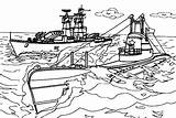 Coloring Carrier Aircraft Ship Navy Warship Cvn Nimitz Template Sky sketch template