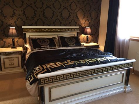 Versace Style Imported Italian Bedroom Suite Stunning