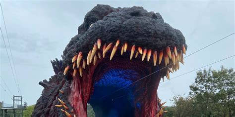 Life-Size Godzilla Is the Crown Jewel of New Japanese ...