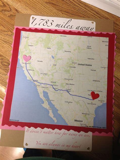 miles long distance gift ideas hahaaaaaa