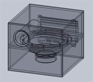 12 Inch Bandpass Sub-woofer Box Design - SOLIDWORKS,STL ...