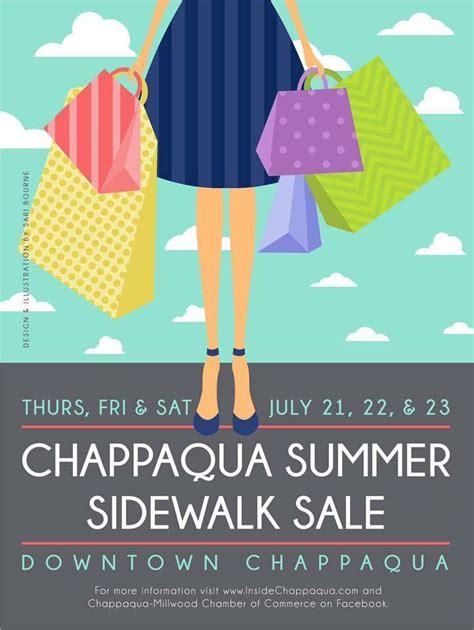 Chappaqua Summer Sidewalk Sale Days: July 21-23