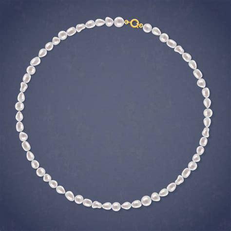 string  pearls illustrations royalty  vector