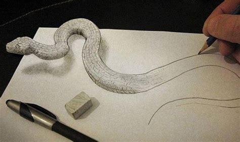 Artista utiliza solo lápiz papel sombras y ángulos para