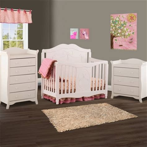 storkcraft princess 4 in 1 fixed side convertible crib white storkcraft 3 nursery set princess 4 in 1 fixed