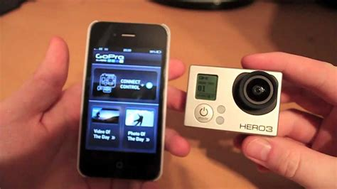 connect gopro to iphone gopro 3 wifi connectivity with an iphone setup demo