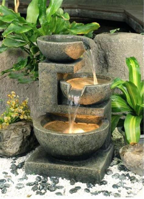 fountains diy garden fountain water homemade easy patio project gardens
