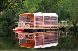 Maison Flottant Prix : kevell la maison flottante cologique aquashell ~ Dode.kayakingforconservation.com Idées de Décoration