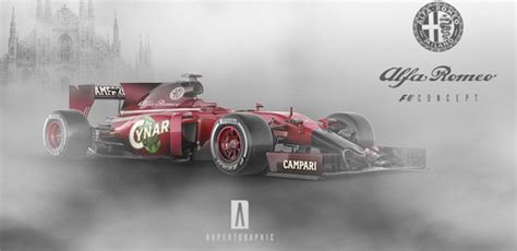 Could An Alfa Romeo F1 Car Look Like This?