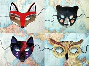 Faschingsmasken Selber Machen : tiermasken basteln aus papier und filz faschingsmasken selber machen t ter kindergarten ~ Eleganceandgraceweddings.com Haus und Dekorationen