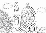 Coloring Pages Colouring Islamic Islam Afbeeldingsresultaat Voor sketch template
