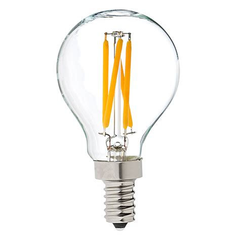 g14 led filament bulb 40 watt equivalent led candelabra