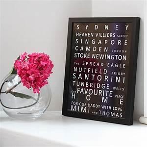 Wall Art Words Framed images