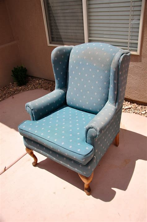 Upholstery Of A Chair by Upholstering A Wing Back Chair Upholstery Tips
