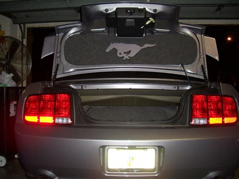 trunk lid cosmetic cover  saleen