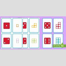 * New * Dots On Dice And Number Shapes Cards  Number Shapes, Dice