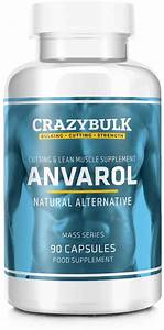 Anvarol Natural Bodybuilding Supplement For Cutting Cycles  Lean Muscle Retention  Strength And