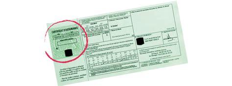numero de carte verte assurance de voiture de collection en cas de sinistre