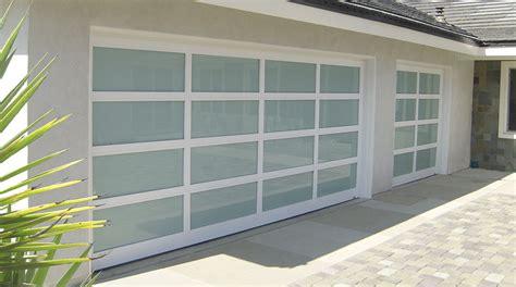 all glass garage door insulated glass garage doors door design
